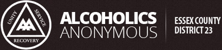 Alcoholics Anonymous Essex County District 23